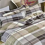 Комплект постільної білизни з фланелі комплект Розмір двоспальний 180 * 220, фото 5