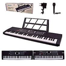 Дитячий орган синтезатор BD-611|612 з мікрофоном 61 клавіша