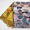 Теплый шарф двухсторонний кашемировый 133007, фото 3