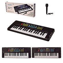 Дитячий орган синтезатор BD-371|372 з мікрофоном 37 клавіш
