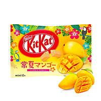 Батончики KitKat Mango limiten edition 12 mini