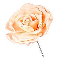 Цветок для фотозоны персиковый (средний) тор