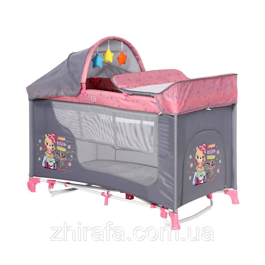 Кровать-манеж Lorelli Moonlight Plus 2 Layers