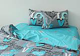ТМ TAG Комплект постільної білизни з компаньйоном S424, фото 3