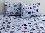 ТМ TAG Комплект постельного белья Совята (серый), фото 3