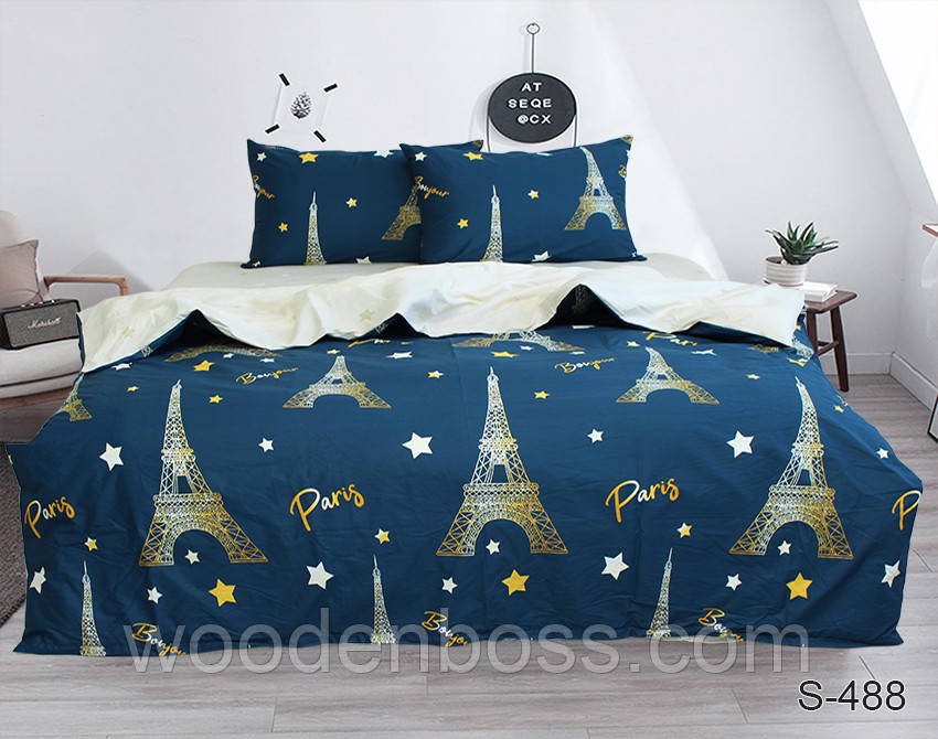 ТМ TAG Комплект постельного белья с компаньоном S488