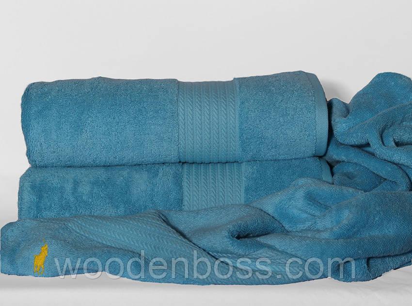 ТМ TAG Рушник 70х140 Polo колір: блакитний