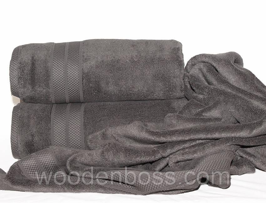 ТМ TAG Полотенце 70х140 Havlu цвет: серый
