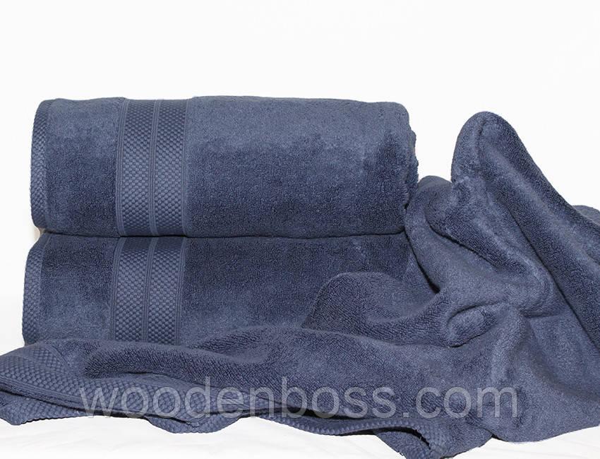 ТМ TAG Полотенце 70х140 Havlu цвет: синий