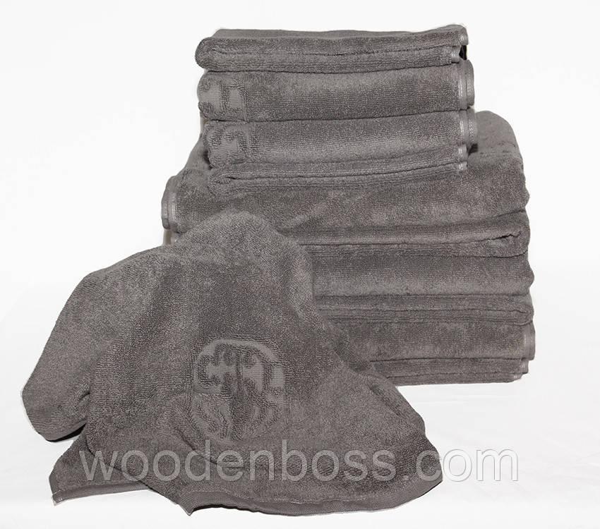 ТМ TAG Рушник 70х140 Hotel Quality колір: сірий