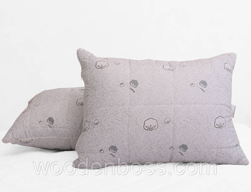 ТМ TAG Подушка лебяжий пух Cotton 70х70 (стеганная)