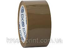Лента клейкая упаковочная (скотч) Economix, коричневая, 48мм*66м