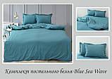 ТМ TAG Комплект постельного белья Blue Sea Wave, фото 2