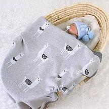 Плед Lovely Svi Дитячий В'язаний Бавовна - Покривало - Плед 80 на 100 см Лама, фото 3