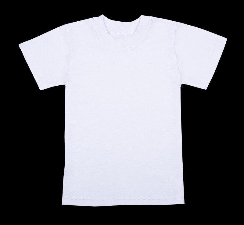 Детская футболка белая Артикул 4104  110р