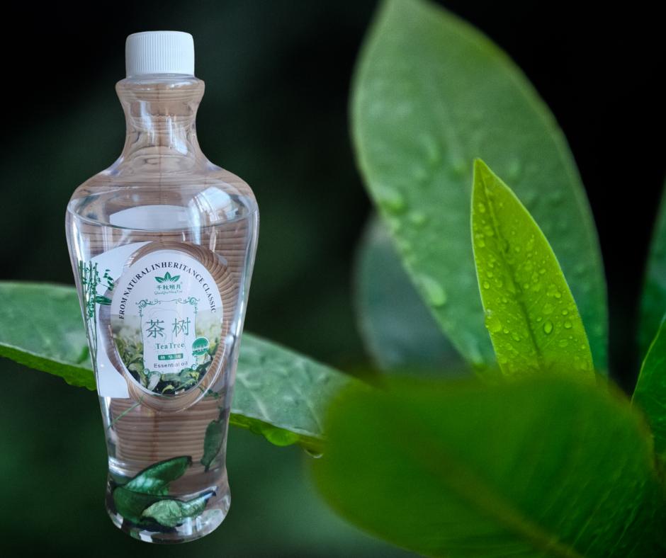 Олія на водній основі для масажу Зелений Чай 600 мл