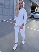 Спортивний костюм жіночий з двунити Написи з капюшоном (Норма), фото 6