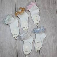 """Шкарпетки ошатні для дівчинки """"Золото"""" р 4-8 років."""