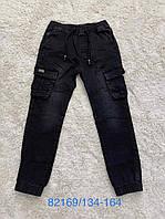 Джинсовые брюки для мальчиков Seagull, Артикул: CSQ82169, 134-164 рр.