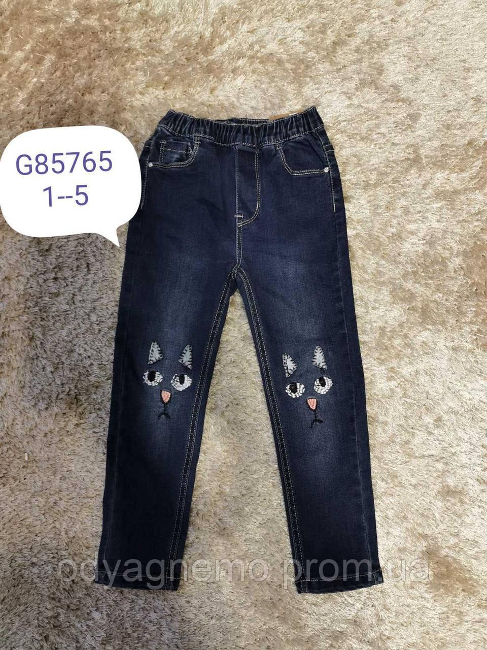 Джинсові брюки для дівчаток F&D Артикул: G85765 , 1-5 років.
