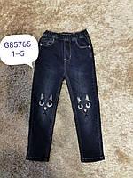 Джинсові брюки для дівчаток F&D Артикул: G85765 , 1-5 років., фото 1