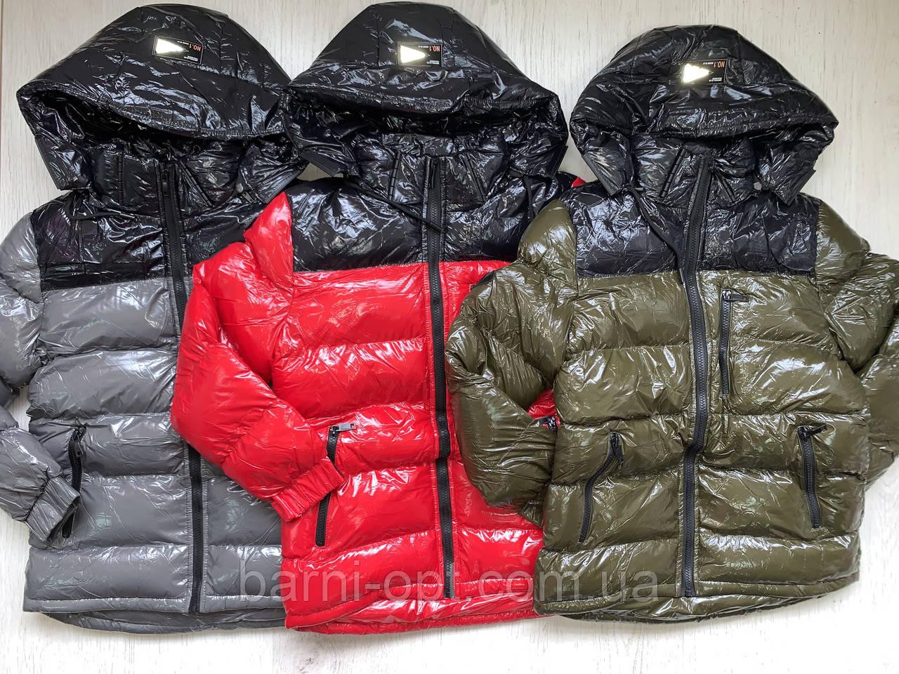Куртки зимние на мальчика оптом, Nature, 10-16 рр