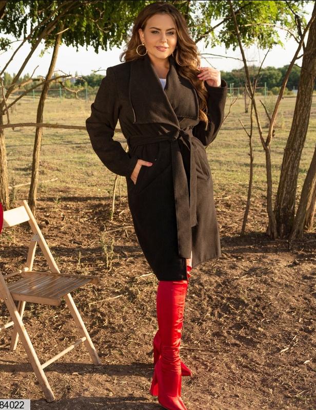 Пальто кашемир без подклада и застежек, размеры: 48-50, 52-54, 56-58, 60-62