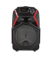 Акустическая портативная колонка чемодан BT Speaker ZQS1808 30Вт | Беспроводной микрофон, USB, Bluetooth