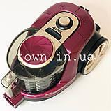 Колбовый пилосос без мішка Henschll XN19-88 (4 л) 3000Вт Циклоный,побутової,для дому,безмішковий потужний, фото 9