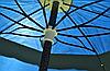 Зонт пляжный, садовый с надежной защитой от ветра и UV-лучей EC-1202 (Синий), фото 5