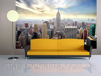 3D фотошпалери «місто Нью-Йорк і небо»