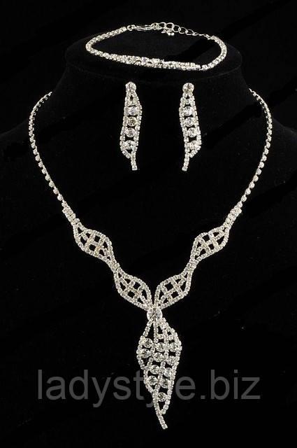 Красивый набор из кристаллов от Студии  www.LadyStyle.Biz, фото 1