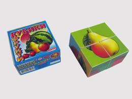 Кубики Фрукты
