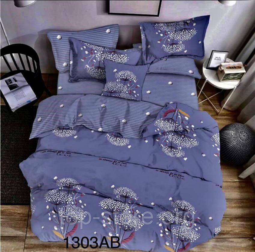 """Качественное постельное белье  """"Бязь Gold"""" Размер двуспальный 180*215"""