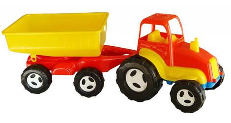 """Трактор с прицепом """"Б"""""""