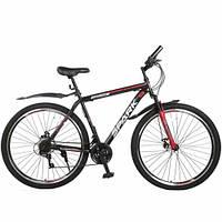 """Велосипед SPARK FIGHTER 21 (колеса 29 """", стальная рама - 21"""", цвет на выбор) +БЕСПЛАТНАЯ ДОСТАВКА!"""