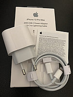 Зарядка швидка Apple iPhone 20W USB-C + Кабель Type-C на Lightning