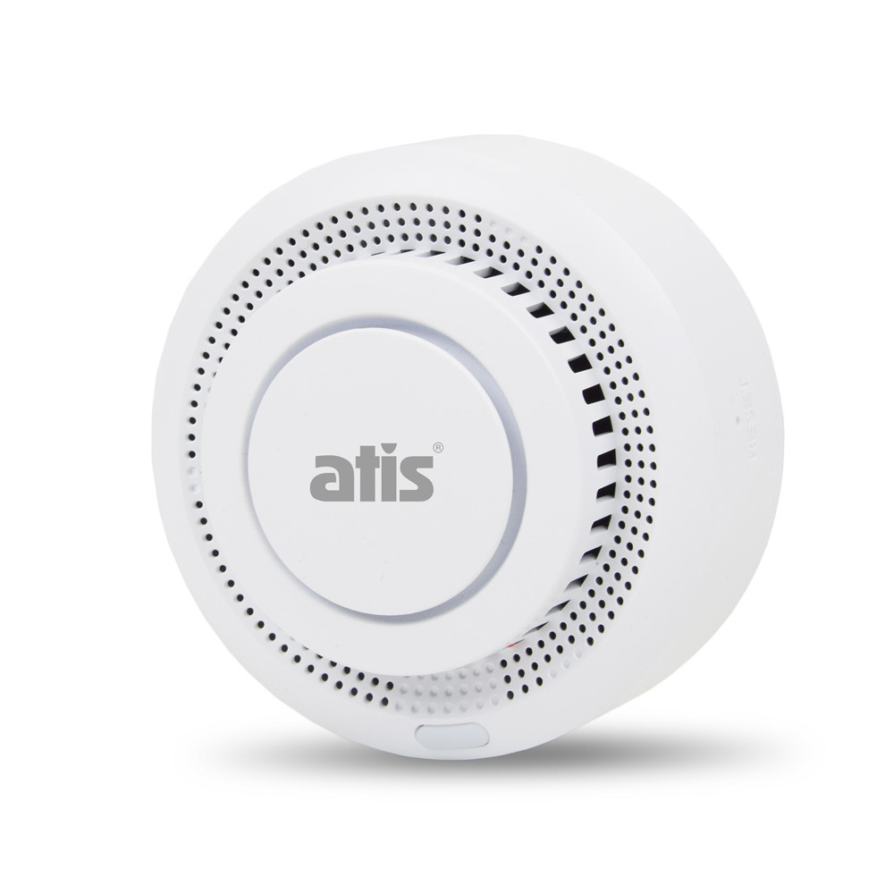 Бездротовий автономний датчик диму ATIS-229DW-T з підтримкою Tuya Smart