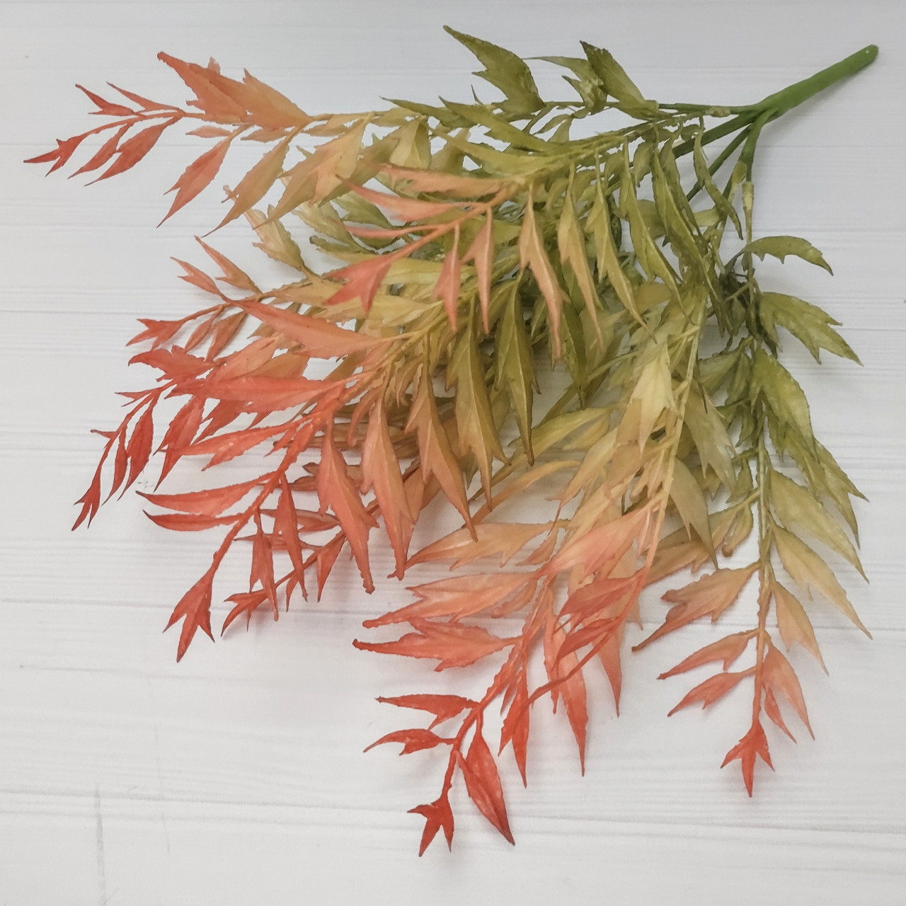 Куст латексный 39 см, оливково-красный