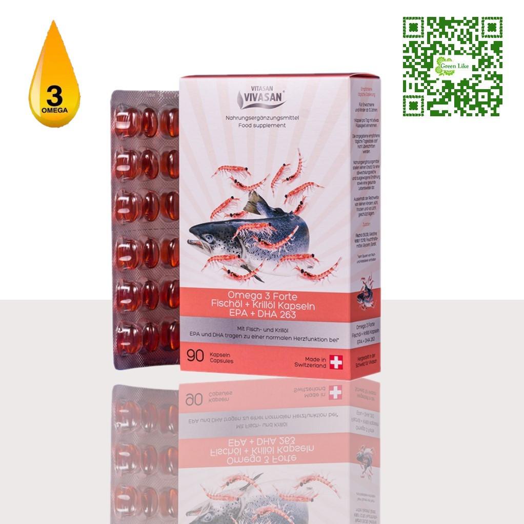 Рыбий жир и масло Криля Омега 3   Швейцария
