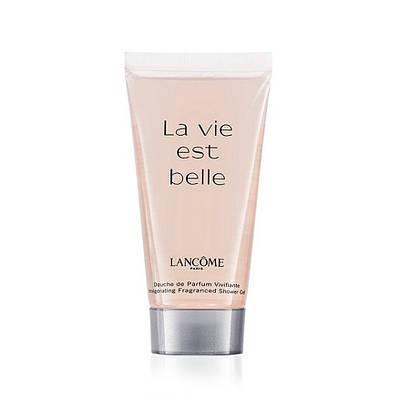 Жіночий гель для душу LANCOME La Vie Est Belle shower gel 50ml , парфумований гель для душу Ла Ви Ест Бель