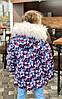 """Курточка зимова для дівчинки """"СНІЖИНКА"""" 98, 104, 110, фото 3"""