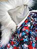 """Курточка зимова для дівчинки """"СНІЖИНКА"""" 98, 104, 110, фото 5"""