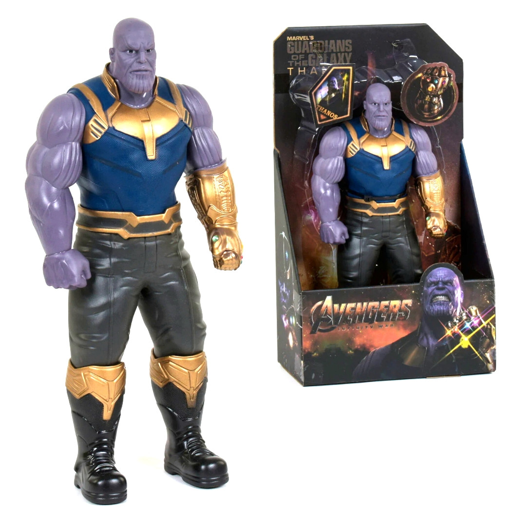 Игрушечная фигурка герой Марвел, Танос, Мстители, 32 см.