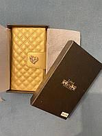 Блокнот в золотистой обложке Lefard