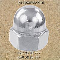 Гайка колпачковая М24 ГОСТ 11860-85, DIN 1587 класс прочности 6.0