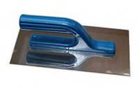 Гладилка нержавеющая, HT tool, 130х270 мм, гладкая