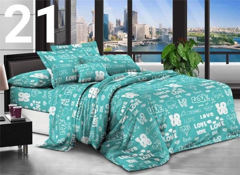 Комплект постельного белья Бязевый, размер двухспальный