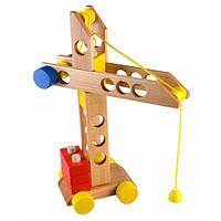 Деревянная игрушка Каталка - конструктор Строитель Ду-11 Руди