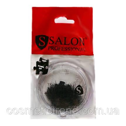 Ресницы для наращивания  SALON PROFESSIONAL черные в банке (NORMAL 8 mm), фото 2